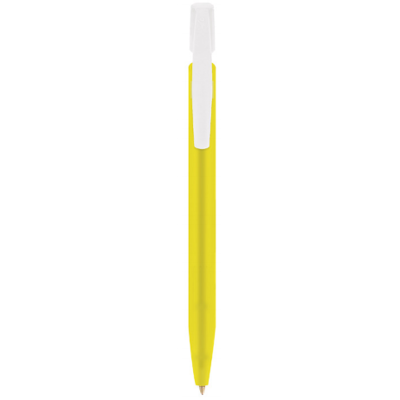 BIC Media Clic balpen Frosted geel