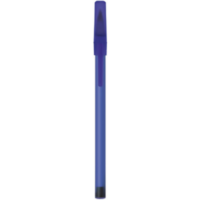 Round stic frosted blauw