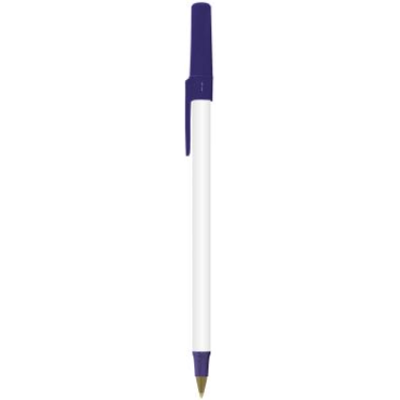 BIC round stic eco frosted blauw