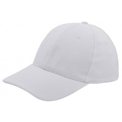 Brushed twill cap wit
