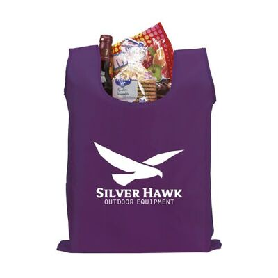Shop easy polyester opvouwbare tas paars