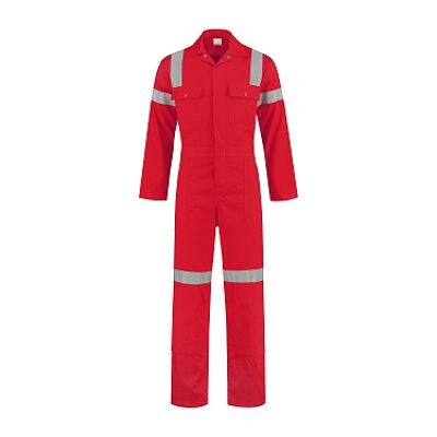 Tropenoverall rood