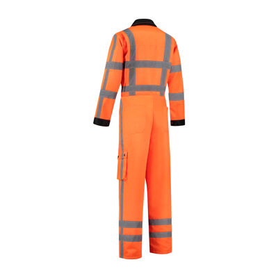 RWS High visibility overall achterkant