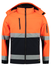Tricorp EN ISO 20471 Bicolor Softshell   100% Polyester