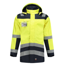 Tricorp Multinorm Bicolor Parka   High Visibility
