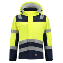 Tricorp Multinorm Bicolor Softshell   High Visibility