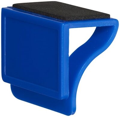 Clip on webcamcover blauw