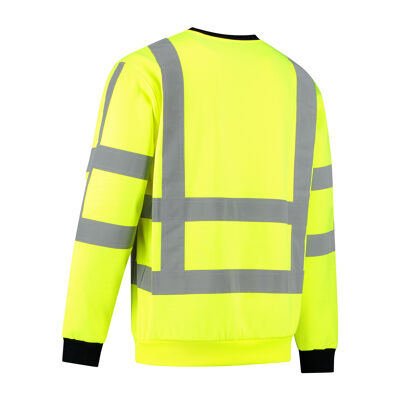 RWS High visibility sweater achterkant