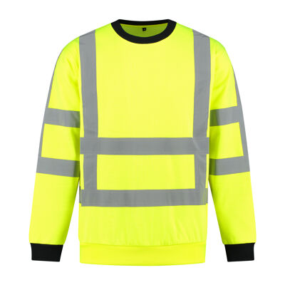 RWS High visibility sweater fluo geel